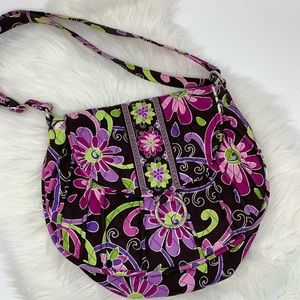 Vera Bradley Purple and green shoulder bag